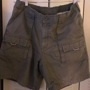 Men's LL Bean Cargo Shorts 38 Reg